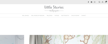 LITTLE STORIES WALLPAPER
